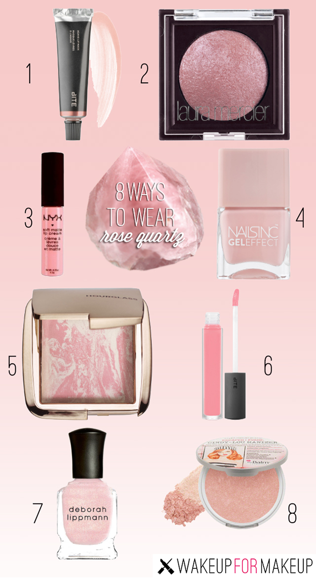 How to Wear Rose Quartz Makeup