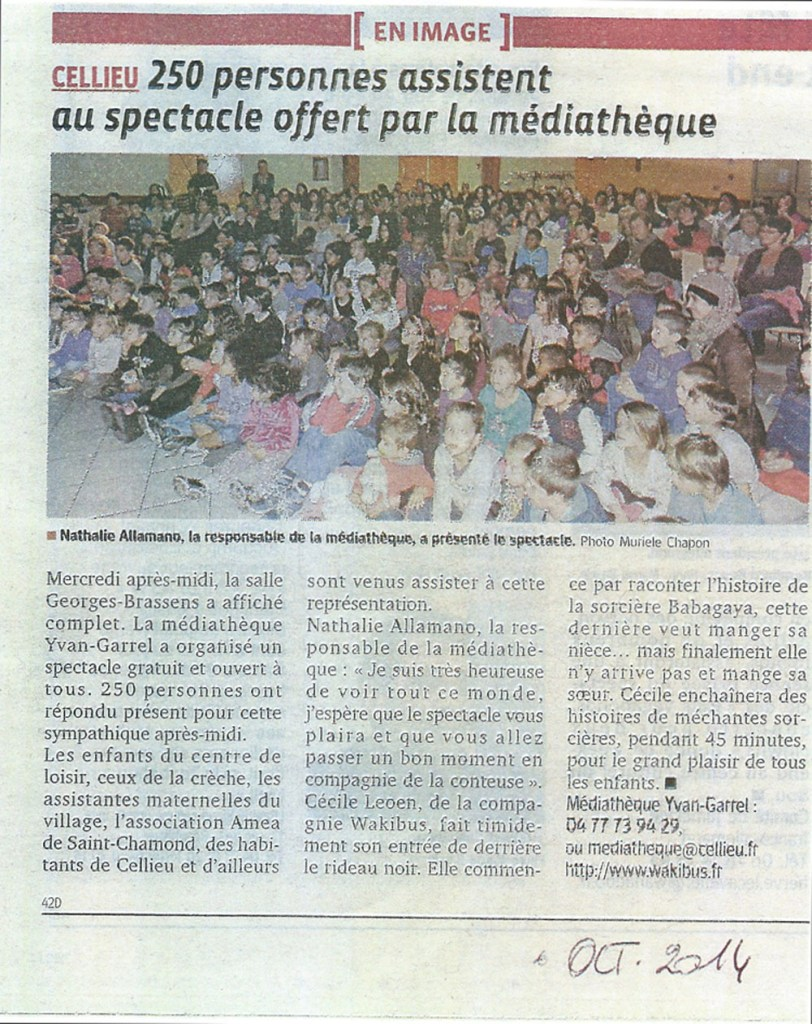 Spectacle - 24/10/14