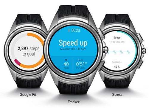 LG G Watch Urbane 2nd Edition W-200画面