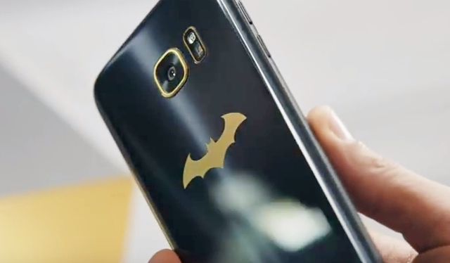 Galaxy S7 edge Injustice Edition本体画像