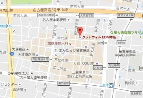 mineoショップ名古屋マップ