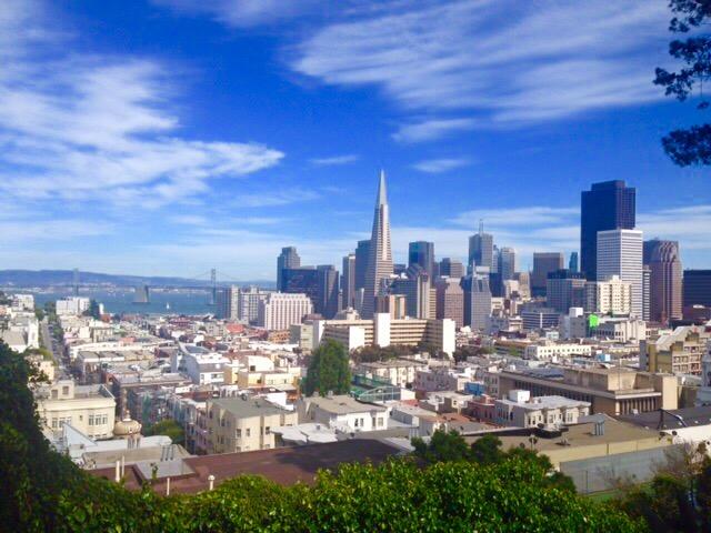 絵になる街、サンフランシスコ
