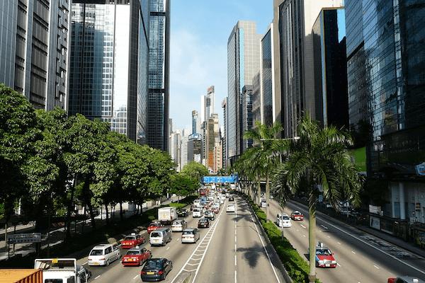 香港で生活