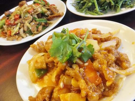 お手頃な台湾料理