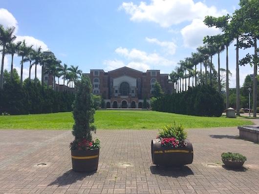 台湾大学の図書館