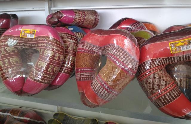 タイの刺繍クッション