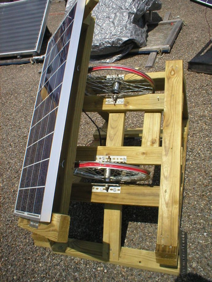 Bike Wheel Solar