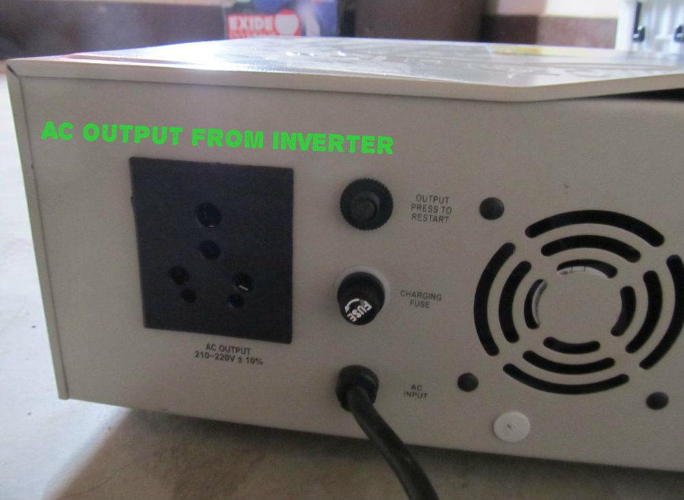 Inverter AC output