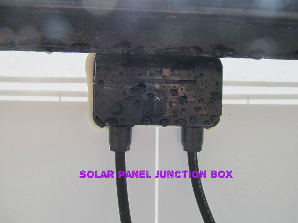 Solar Panel Junction Box Wiring