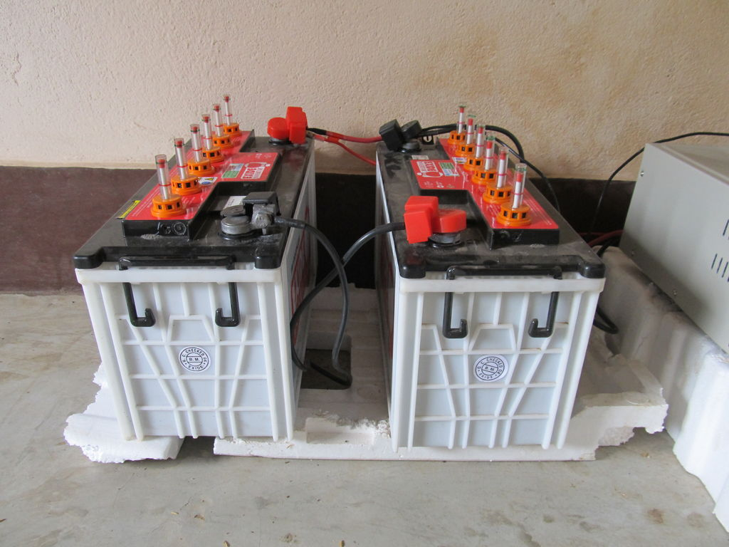Batteries for Solar System