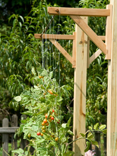 20 vertical gardening ideas for turning a small space into for Grow vertical garden