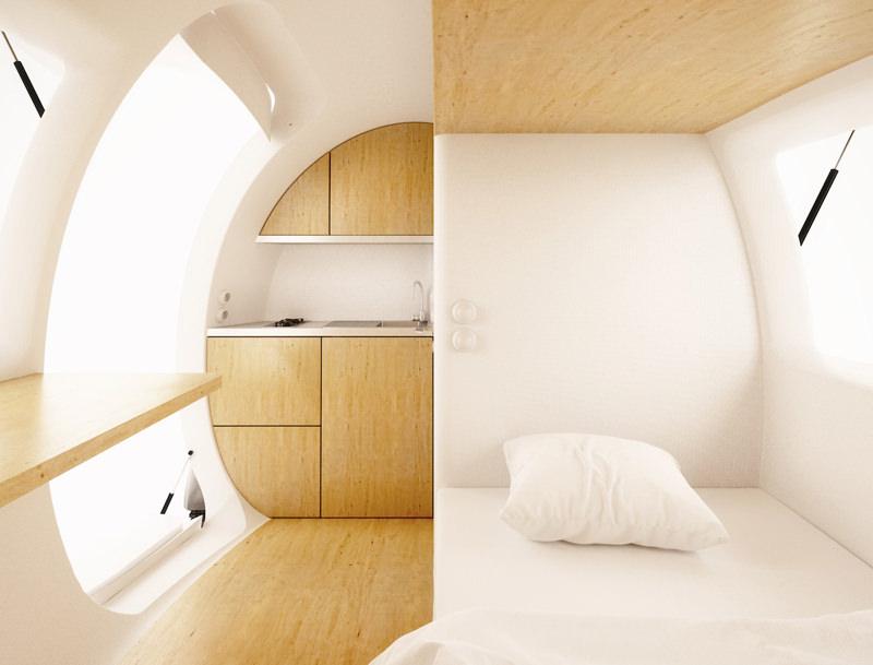 Ecocapsule Interior
