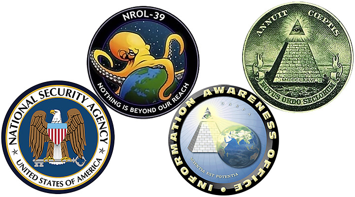 mass surveillance symbols