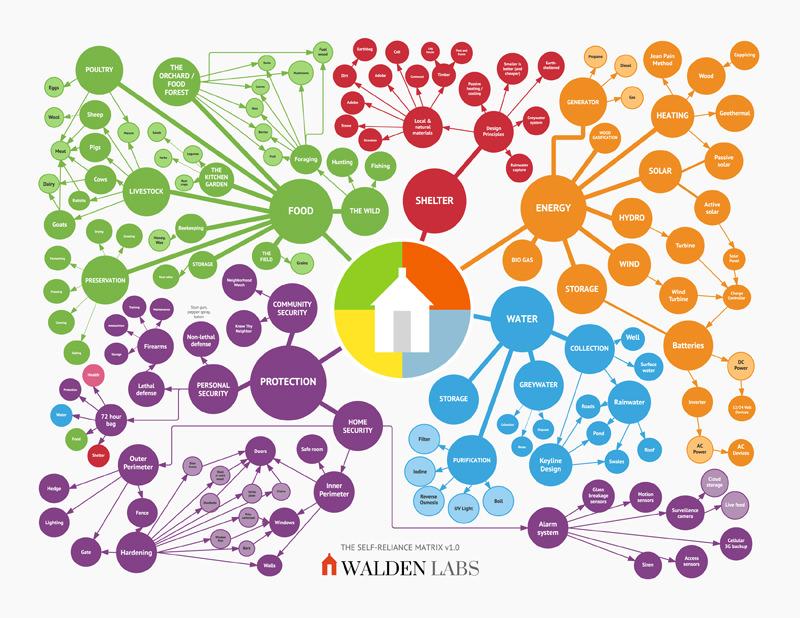 The Self-Reliance Matrix