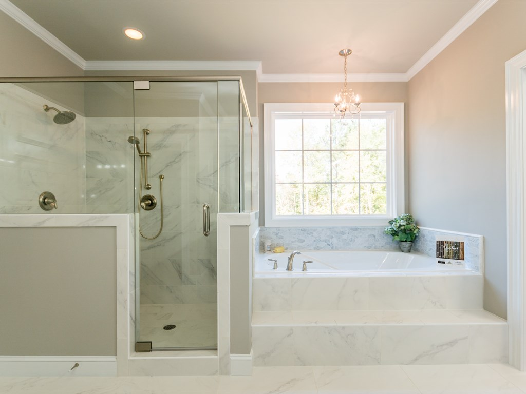 Luxurious Master Bath Designs Walker Designbuild