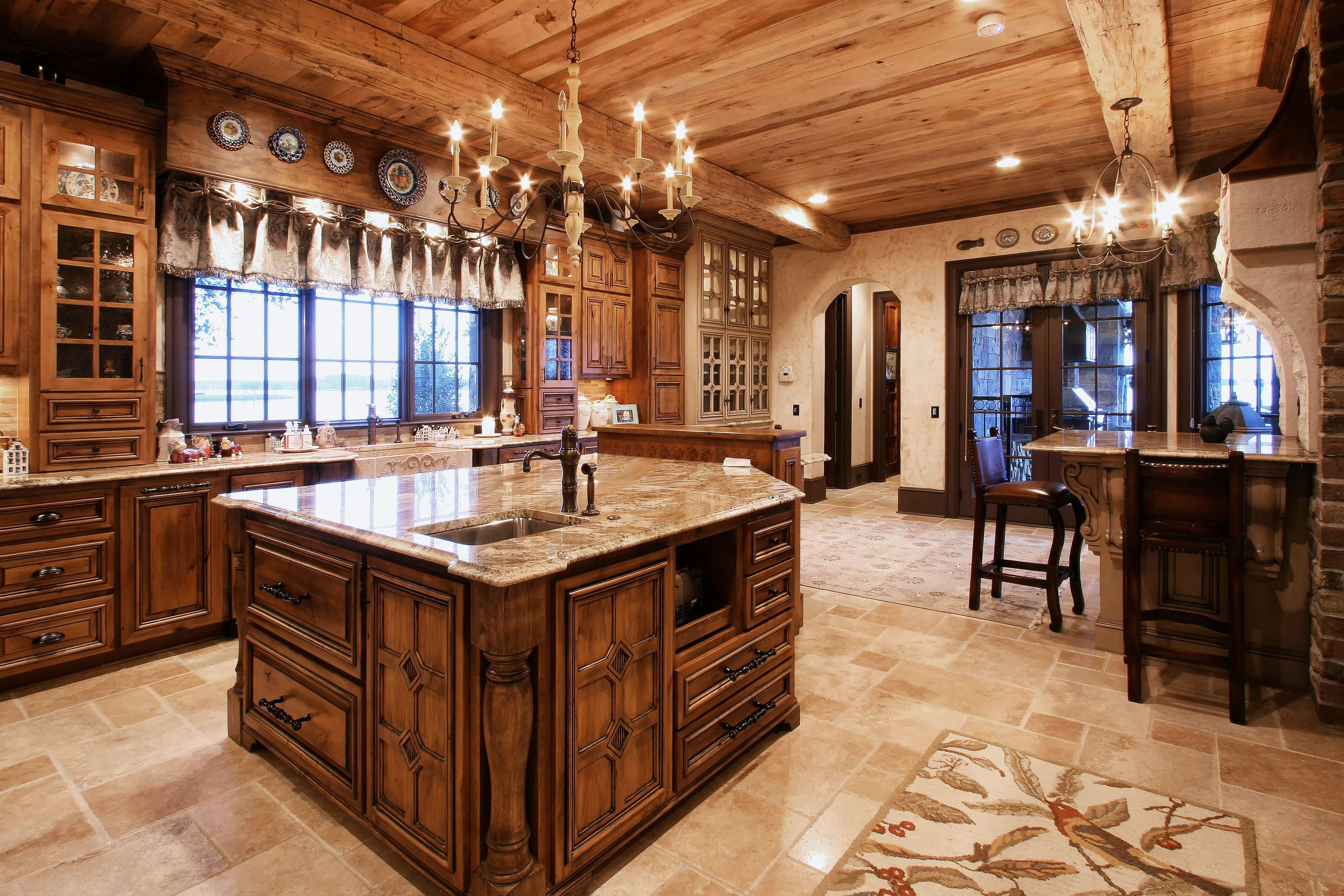 Kitchen And Bath Design Education French Country Style Cabinetry Walker Woodworking