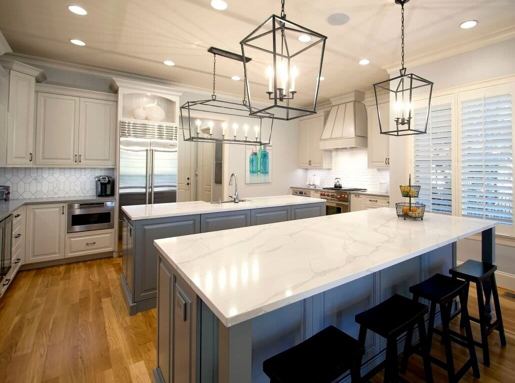 Beautiful Kitchens With Islands Transitional Renovation | Walker Woodworking