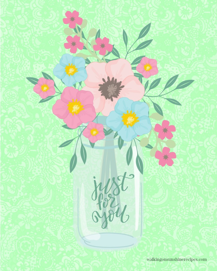 Free Spring Printable to Decorate your Home Inspiration