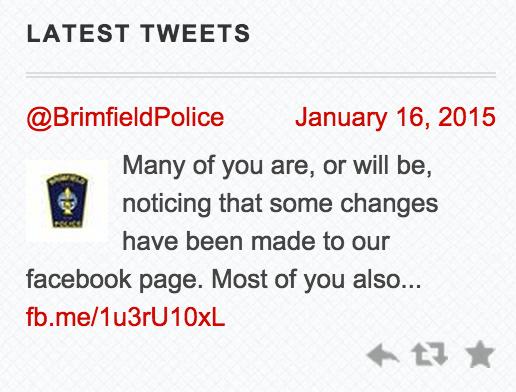 Brimfield Twitter Feed