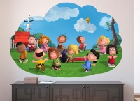 Peanuts Dance Party Wall Decal