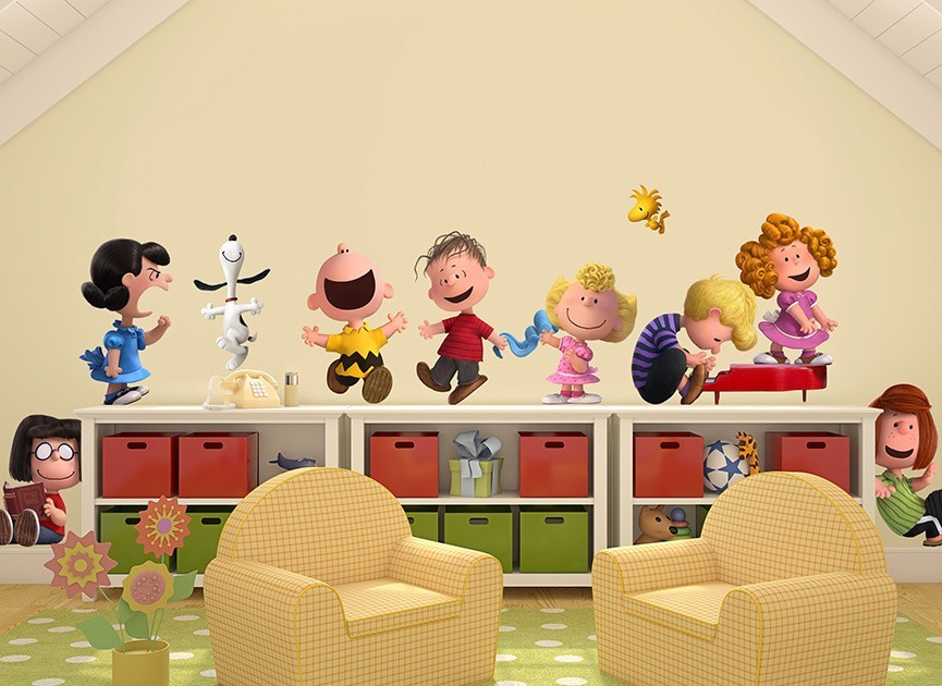 Peanuts Gang Wall Decals