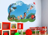 Peanuts Flying A Kite Wall Decal
