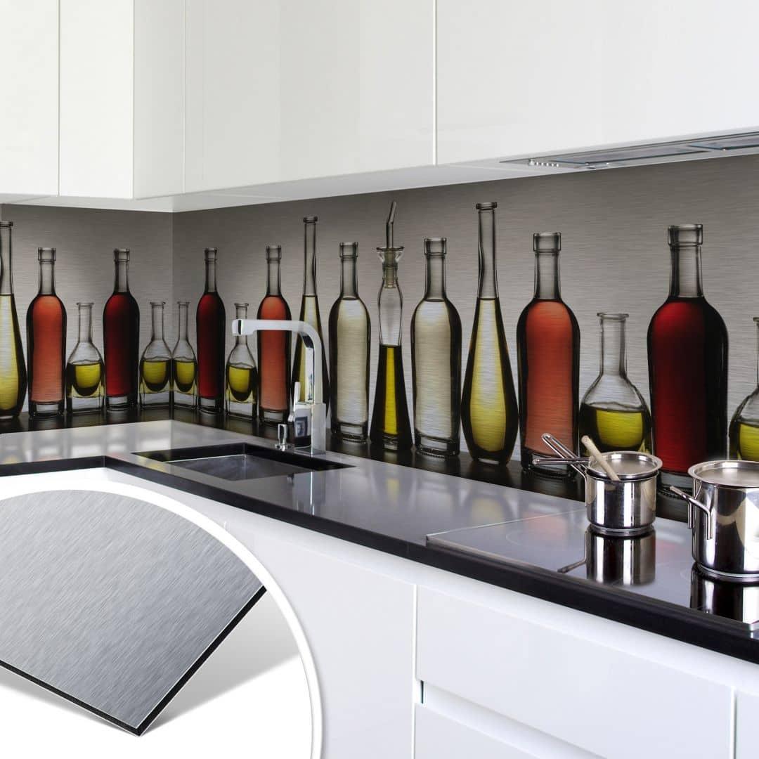 Küchenrückwand Alu Dibond
