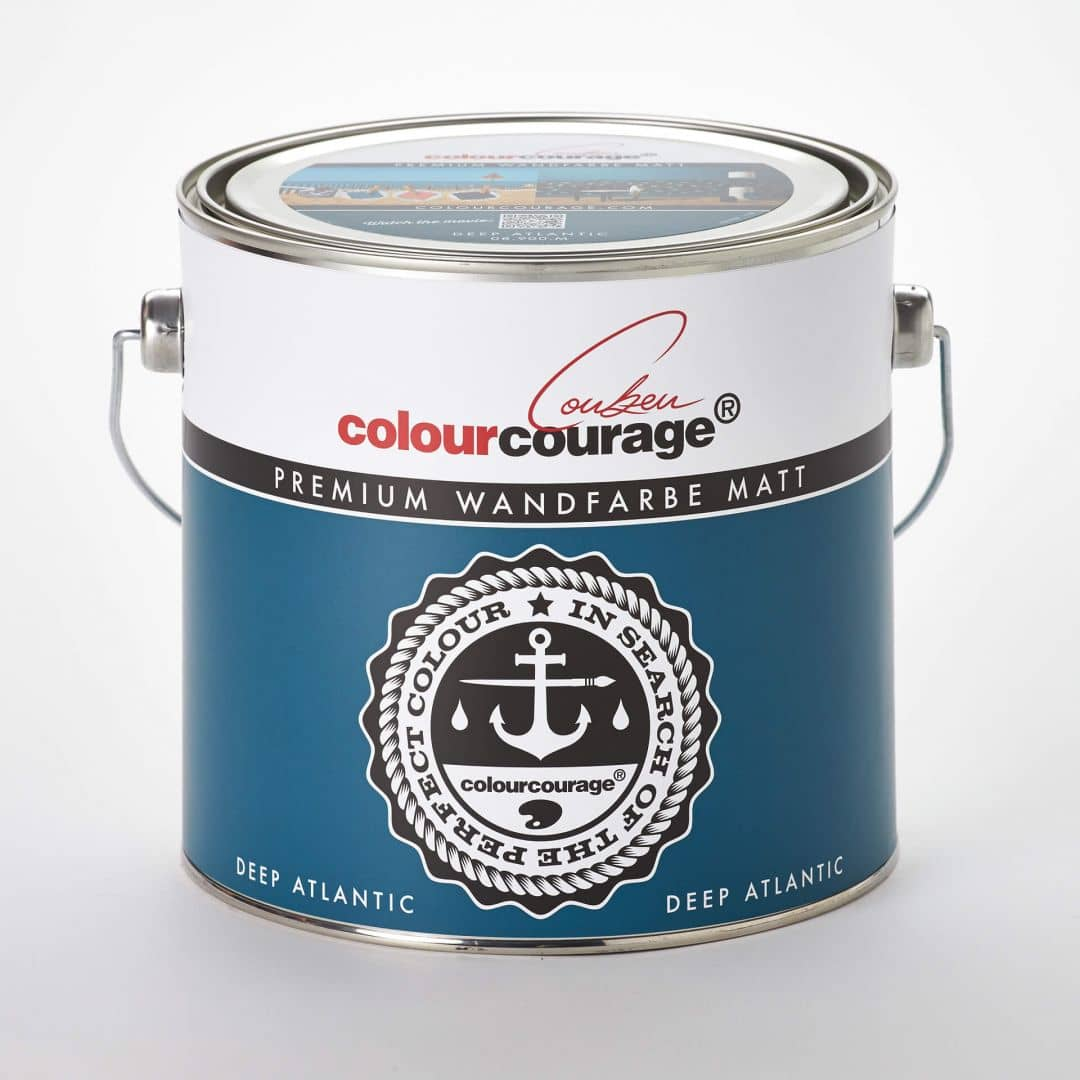Wandfarbe Deep Colourcourage Premium Wandfarbe Matt Deep Atlantic 08