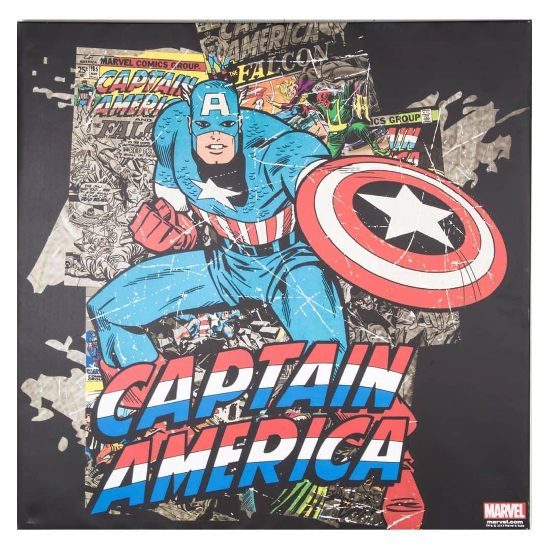 Captain America Bettwäsche Renforce Meterware
