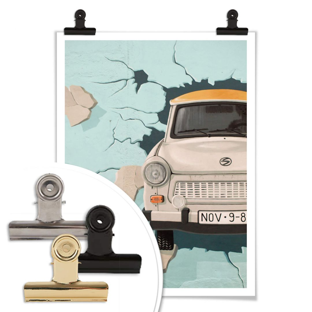 Stampe A Muro Poster Attraverso Il Muro Wall Art It