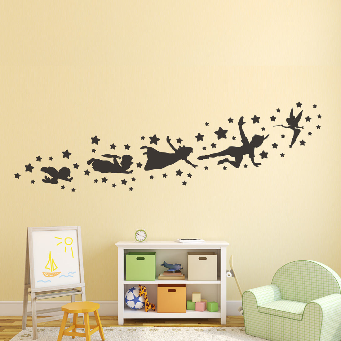 Vinyl Wall Decal Peter Pan Wall Decal Talentneeds