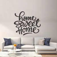 Sweet Home Wall Decor Vinyl Sticker Decal Livingroom
