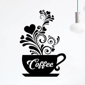 Coffee & Tea cups stickers