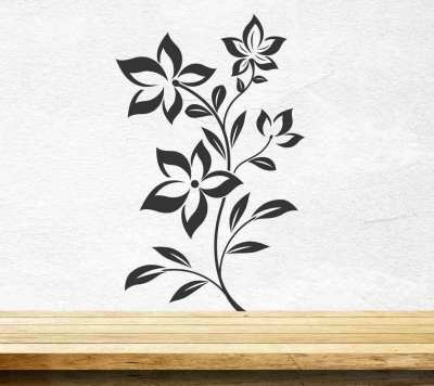 Flowers Wall Sticker Floral Vinyl Decal Art Decoration Graphics Wallpaper Decor
