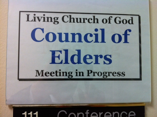 Back from LCG Council of Elders Meeting \u2013 Thoughts En Route