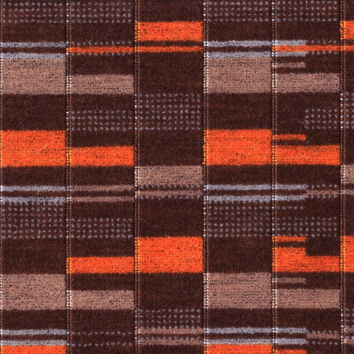 Moquette Orange Overground Moquette - Wallace & Sewell