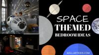 Space Themed Bedroom Ideas! - Wall Art Kids