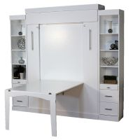 Euro Table Murphy Bed   Hidden Desk & Wall Bed   Euro ...