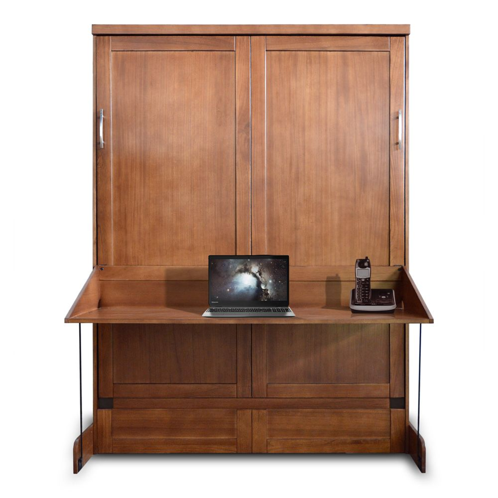 "Murphy Bed Desk Caspian Desk Wallbed - Wallbeds ""n"" More"