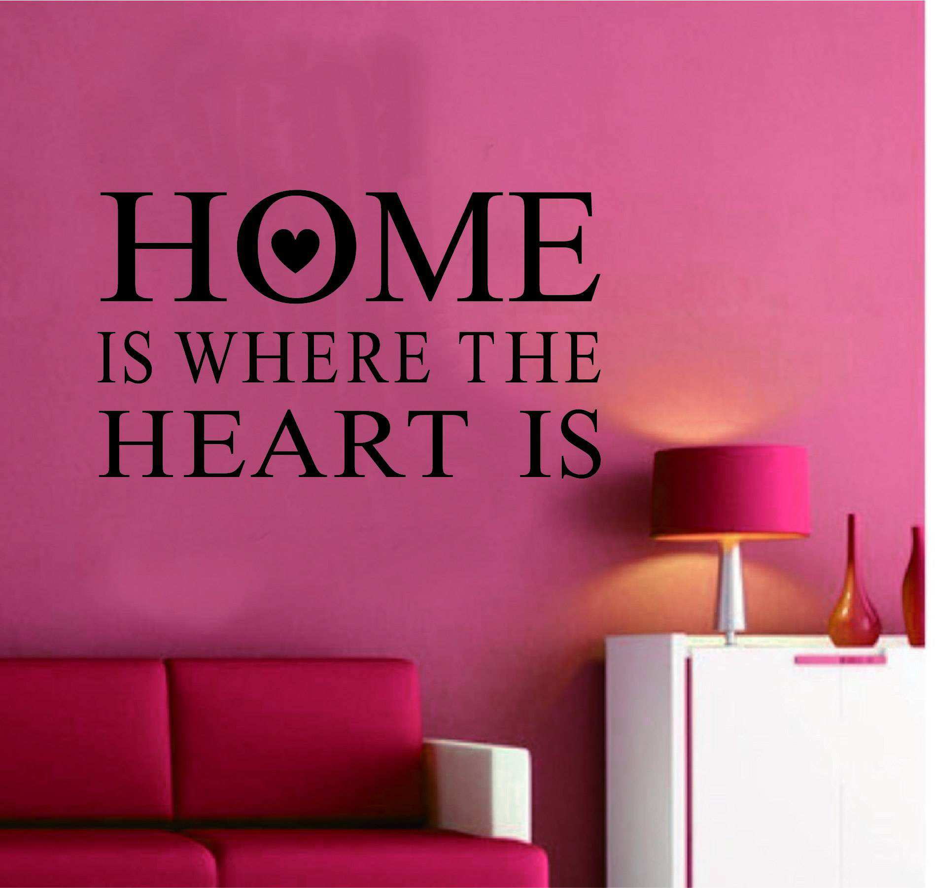 home heart quotes wall quotes sticker decal wall home sweet home wall sticker decals