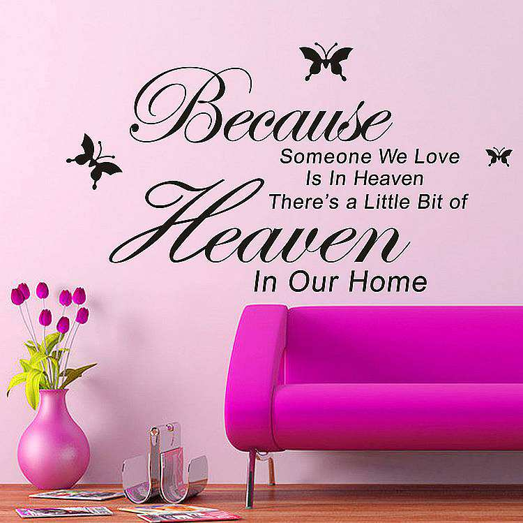 home heaven wall quotes wall stickers journey destination quote decal wall stickers transfers ebay
