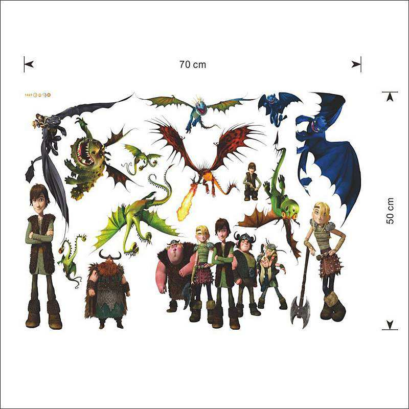 train dragon wall stickers decal train dragon wall decals train dragon wall