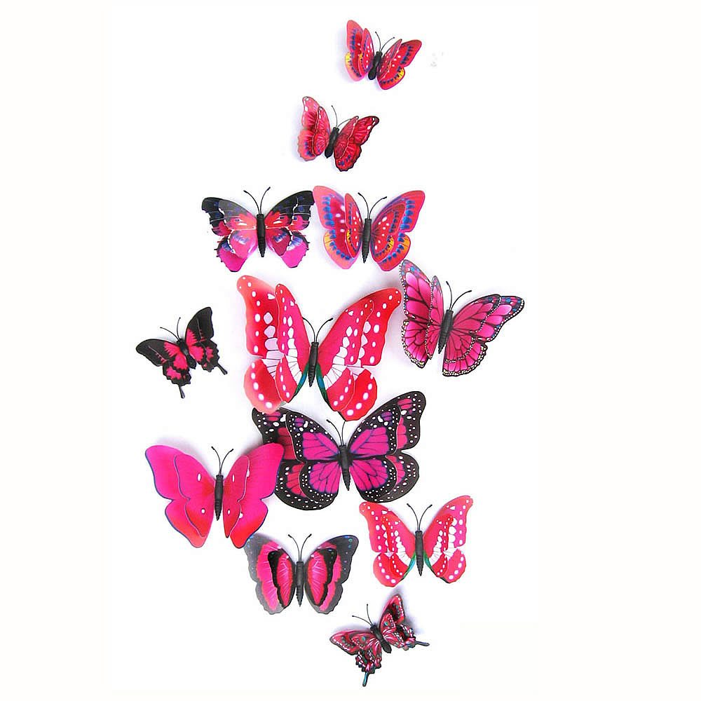 butterfly wall stickers butterflies bedroom wall decals butterfly family wall decal