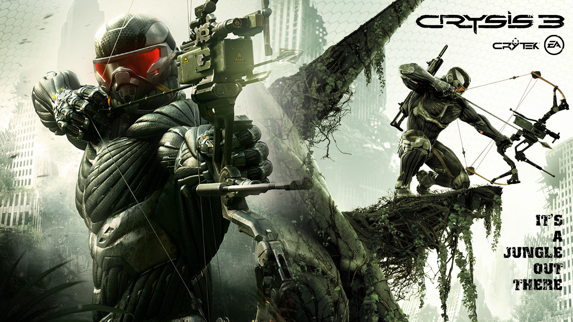 Mw3 3d Wallpapers Crysis 3 Wallpaper Image Picture 7947 Wallpaper