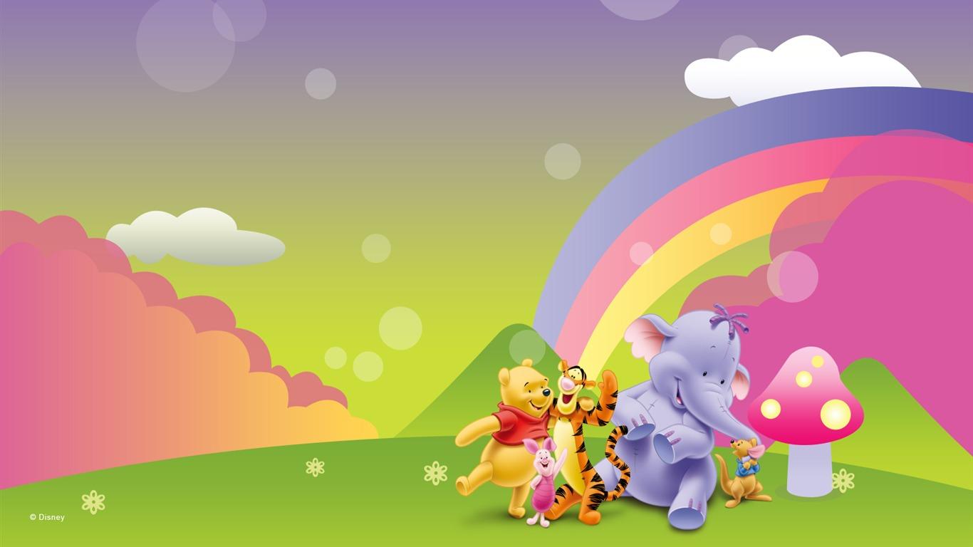 Cute Pooh Bear Wallpaper Hd Winnie The Pooh Wallpaper 1366x768 9487 Wallpaper