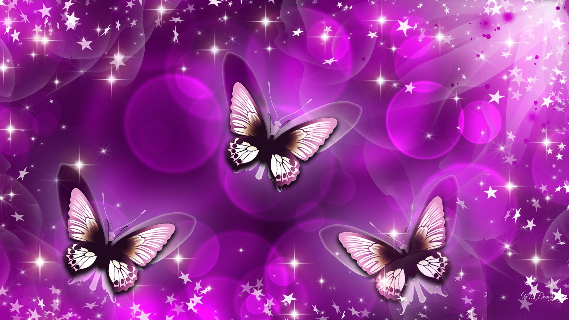 Download Cute Love Wallpapers With Quotes Butterfly Purple Art Wallpaper 11017 Wallpaper
