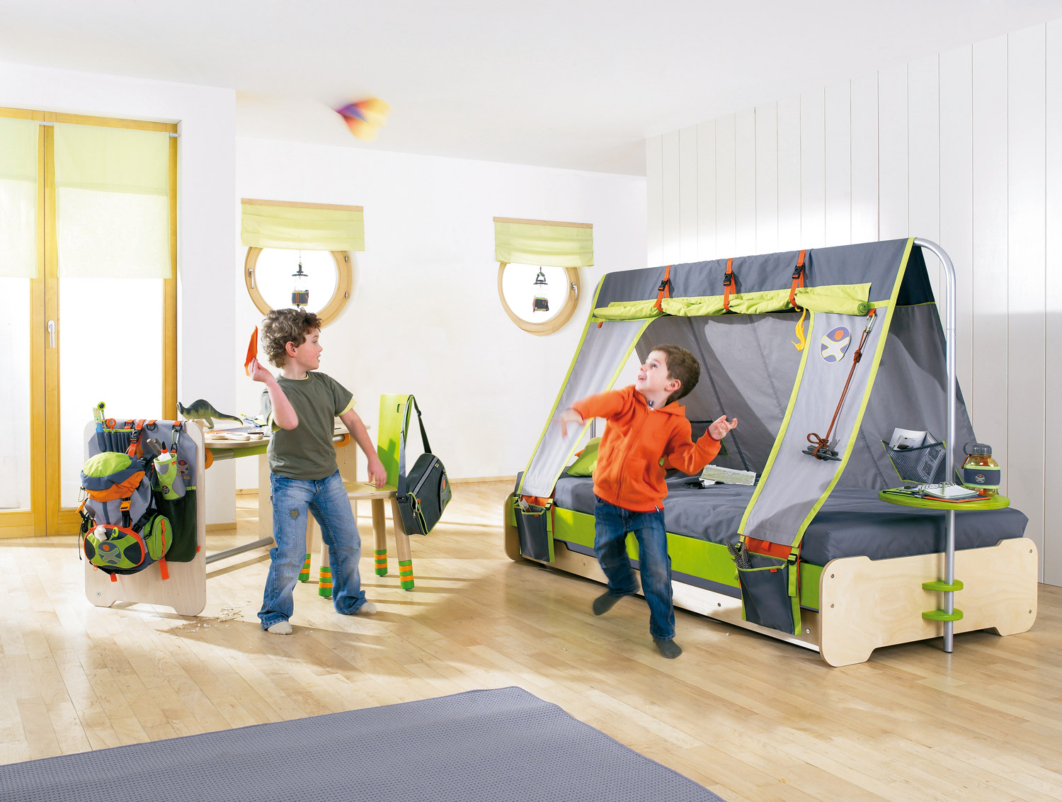 Haba Zelt Haba Terra Kids Bett Expedition - 8608 Im Wallenfels
