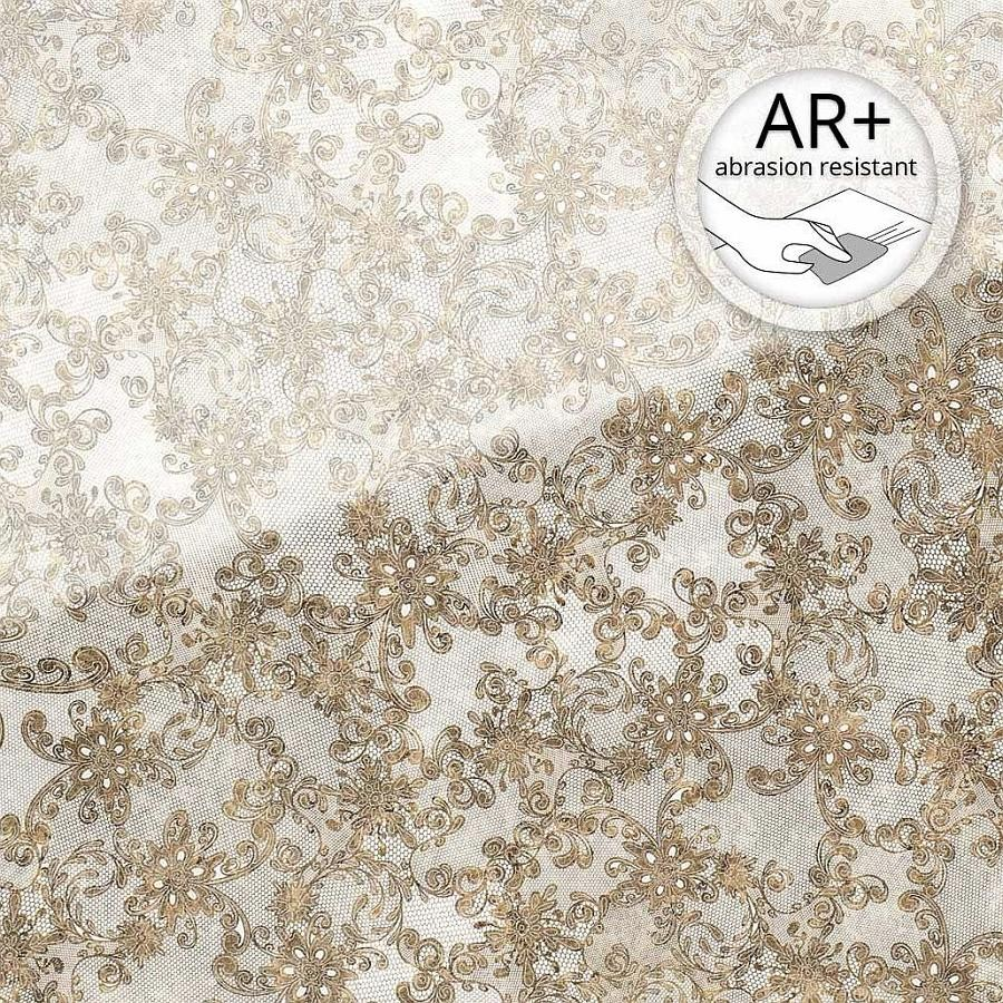 Wall Panel 17950 Lace Glass Look Lace White Brown Wallface Wall Panels Design Sheets