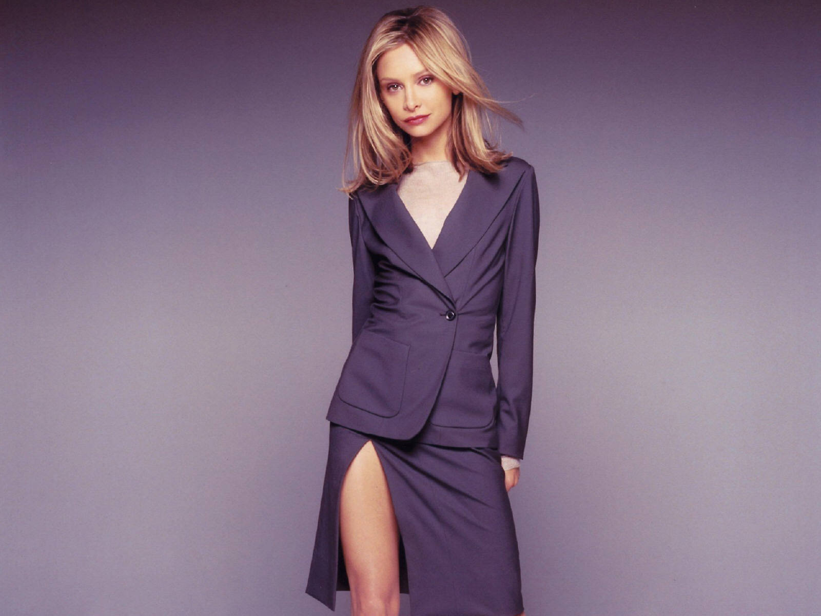 Ally Pin Up Fond D 39ecran Calista Flockhart Ally Mcbeal Wallpaper