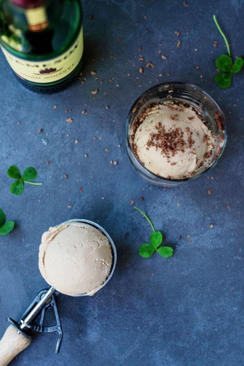 Vegan Baileys Ice Cream